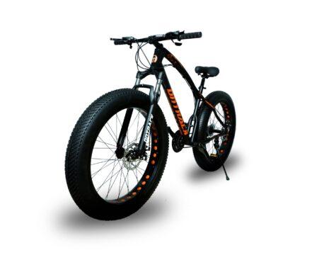jaguar frame ontrack fat tyre bike cycle bicycle black 001
