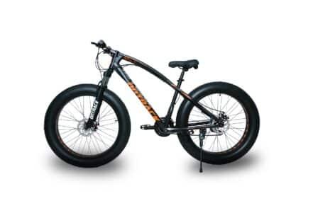 jaguar frame ontrack fat tyre bike cycle bicycle black 002