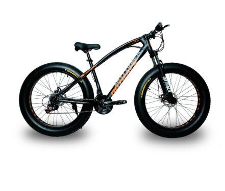 jaguar frame ontrack fat tyre bike cycle bicycle black 003
