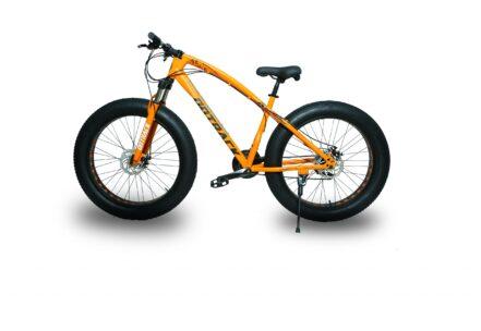 jaguar frame ontrack fat tyre bike cycle bicycle orange 003