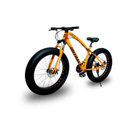 jaguar frame ontrack fat tyre bike cycle bicycle orange 004