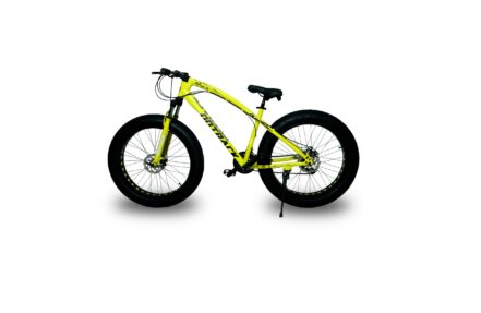jaguar frame ontrack fat tyre bike cycle bicycle yellow 002