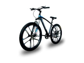 Mag/Alloy Wheels Double Disk Brake Cycle BLUE