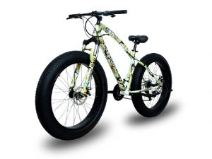 Jaguar Military Camouflage (Camo-Stark) Fat Bike