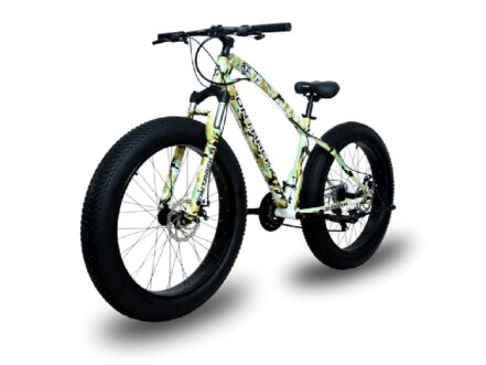 jaguar frame ontrack fat tyre bike cycle bicycle camo landscape