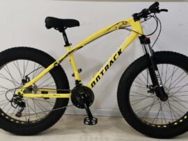 Jaguar Frame OnTrack YELLOW Fat Tyre Bicycle 2021 Model