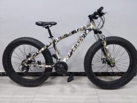 MUTANT CAMOUFLAGE 27 speed microshift gears FAT BIKE